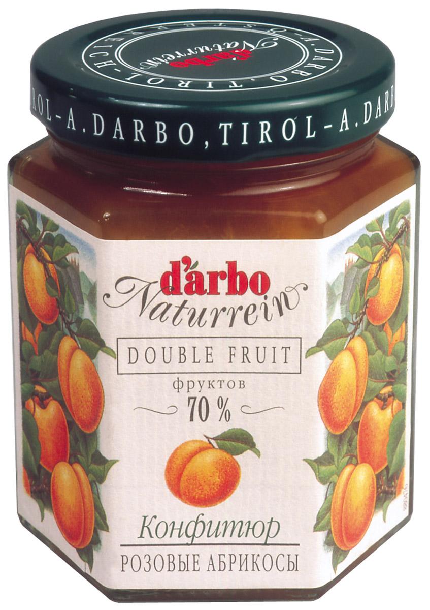 Darbo конфитюр розовый абрикос, 200 г0120710Не содержит консервантов и красителей.В 1879 году Рудольф Дарбо основал предприятие, которое стало одним из самых успешных в Австрии - A. Darbo AG в Тироле.В 1997 году ему было присуждено звание лучшей Тирольской торговой марки.Конфитюры DArbo экспортируются более чем в 40 стран мира.По всему миру брэнд DArbo Naturrein гарантирует высокое качество конфитюров, меда и компотов.Для DArbo Naturrein используются только свежие фрукты и ягоды из самых лучших регионов мира.Компания покупает розовые абрикосы в Венгрии, киви в Новой Зеландии, черную вишню в Швейцарии, бузину в Сирии и клюкву в Швеции.Многолетний опыт и связи среди компаний, торгующих фруктами, позволяют DArbo стоять в первых рядах при покупке высококачественных фруктов.
