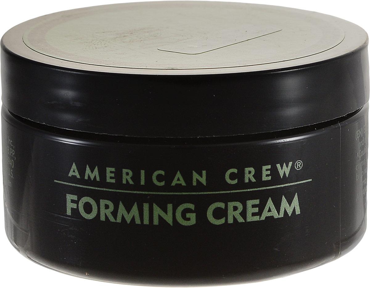 American Crew Крем для укладки волос Forming Cream 85 мл7209383000Как бывает тяжело уложить вечно непослушные волосы, никак не хотящие ровно укладываться в красивую прическу. А гладкую прическу, несмотря на все мучения, хочется. Воспользуйтесь кремом American Crew Forming Cream, способным решить эту проблему. Крем для укладки имеет водную основу, поэтому легко смывается шампунем и не оставляет никаких следов. Сахароза увлажняет волосы, фиксирующий полимер придает волосам объем и упругость, а глицерин смягчает волосы, делая их гуще и объемнее.