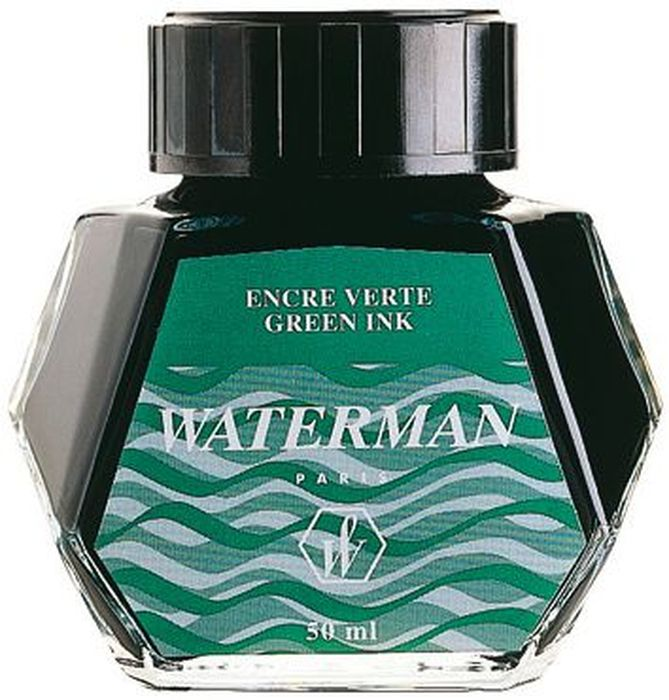Waterman Чернила цвет зеленый 50 мл -  Чернила и тушь