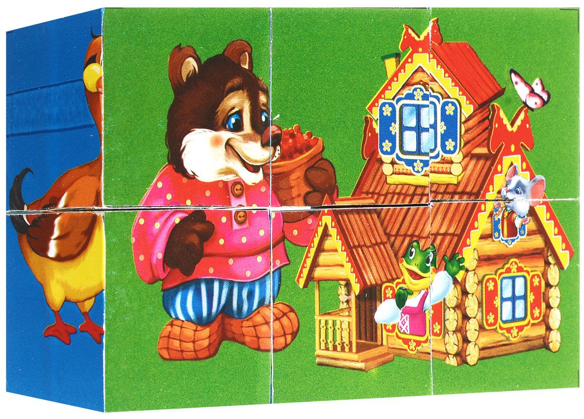 Играем вместе Кубики Русские сказки