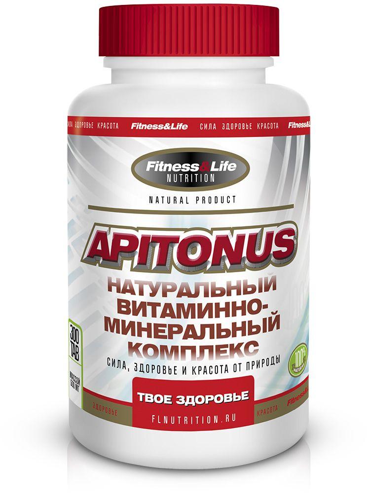 """Пищевая добавка Fitness&Life """"Apitonus"""", 300 таблеток"""