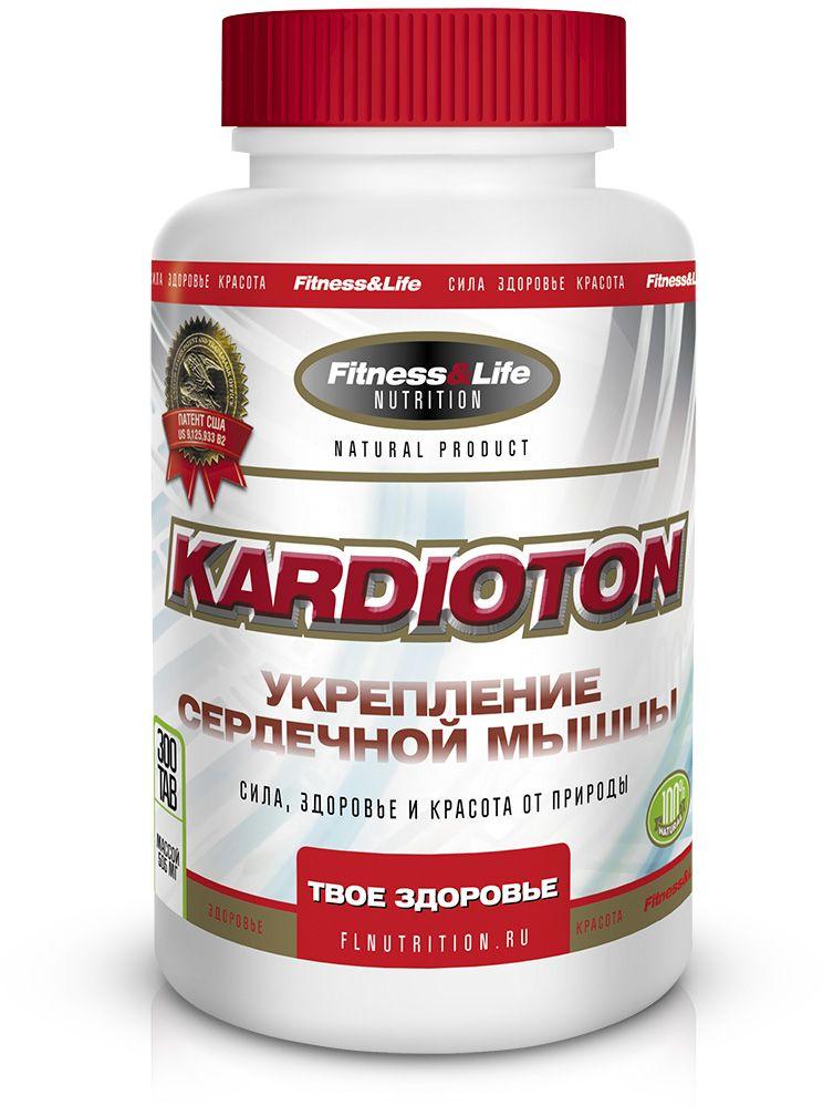 """Пищевая добавка Fitness&Life """"Kardioton"""", 300 таблеток"""