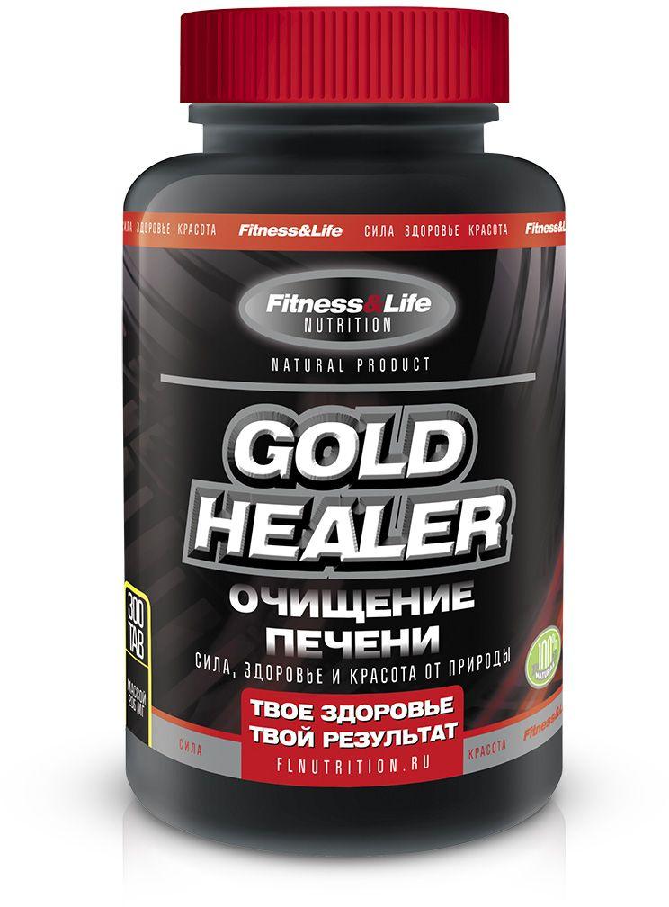 "Пищевая добавка Fitness&Life ""Gold Healer"", 300 таблеток"