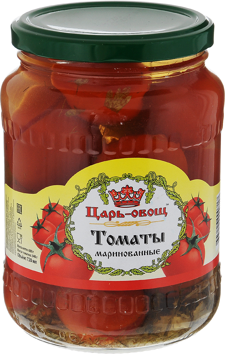 Царь-овощ Томаты маринованные, 680 г
