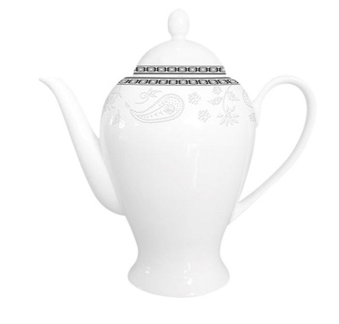 Чайник заварочный Esprado Arista White, 920 мл68/5/4Заварочный чайник 920 мл из костяного фарфора.Упаковка: наклейка «Заварочный чайник 920 мл из костяного фарфора», штрих-код на дне.На дне изделия штамп: «Esprado Fine Bone Сhina» со знаками «использование в посудомоечной машине разрешено» и «использование в микроволновой печи разрешено».Внутренняя упаковка: подарочная цветная коробка, 1 штука в упаковке.Деколь как на эталонном образце.