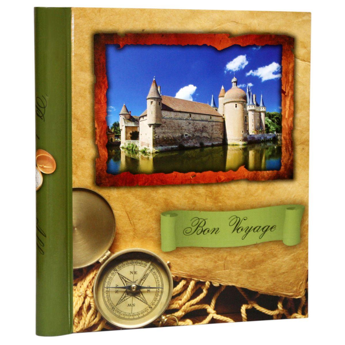 Фотоальбом Pioneer Bon Voyage, 10 магнитных листов, цвет: зеленый, 23 х 28 см41258Фотоальбом Pioneer Bon Voyage позволит вам запечатлеть незабываемые моменты вашей жизни, сохранить свои истории и воспоминания на его страницах. Обложка из толстого картона оформлена оригинальным принтом. Фотоальбом рассчитан на 10 фотографий форматом 23 х 28 см. Такой необычный фотоальбом позволит легко заполнить страницы вашей истории, и с годами ничего не забудется.Тип обложки: Ламинированный картон.Тип листов: магнитные.Тип переплета: спираль.Материалы, использованные в изготовлении альбома, обеспечивают высокое качество хранения ваших фотографий, поэтому фотографии не желтеют со временем.