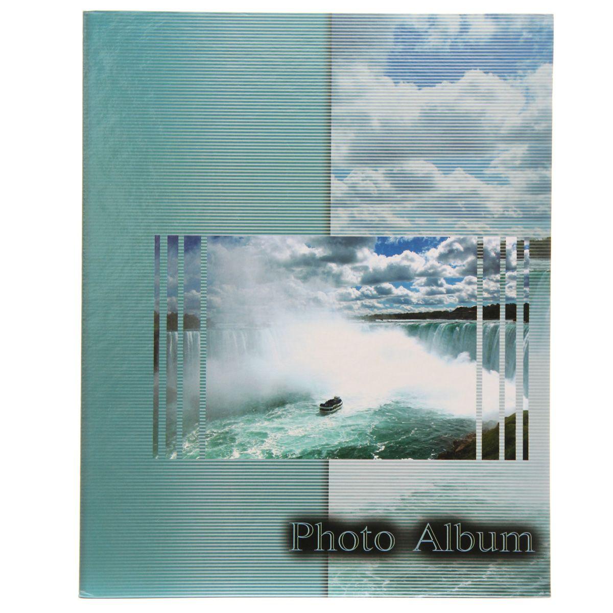Фотоальбом Pioneer Waterfalls, 200 фотографий, 10 х 15 см, цвет: голубой12723Фотоальбом Pioneer Waterfalls поможет красиво оформить ваши самые интересныефотографии. Обложка из толстого картона оформлена оригинальным принтом. Фотоальбом рассчитан на 200 фотографий форматом 10 x 15 см. Внутри содержится блок из 50 листов с окошками из полипропилена, одна страница оформлена двумя окошками для фотографий. Такой необычный фотоальбом позволит легко заполнить страницы вашей истории, и с годами ничего не забудется.Тип обложки: картон.Тип листов: полипропиленовые.Тип переплета: высокочастотная сварка. Материалы, использованные в изготовлении альбома, обеспечивают высокое качество хранения ваших фотографий, поэтому фотографии не желтеют со временем.