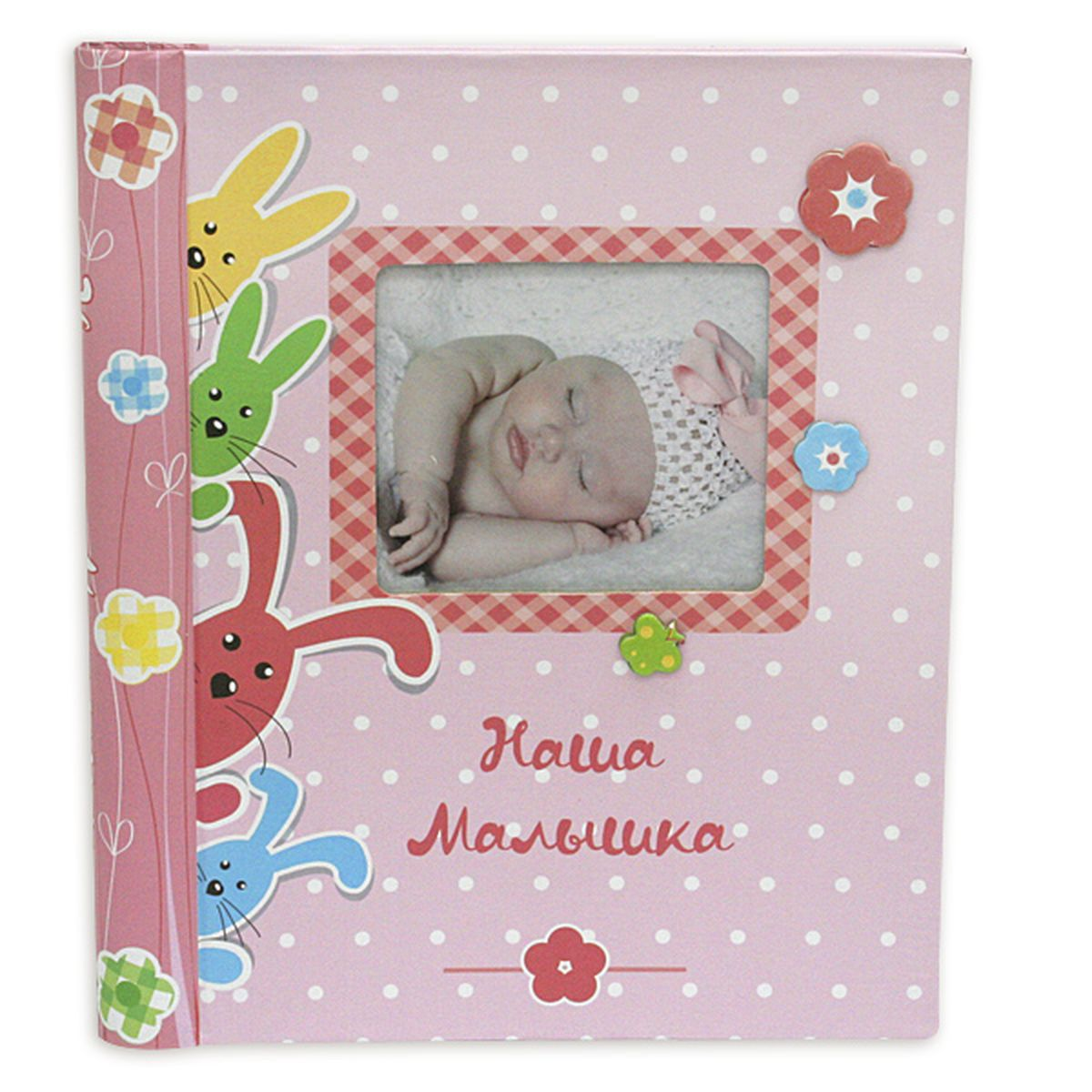 Фотокнига Pioneer Our Baby 6, 20 магнитных листов, 23 x 28 см12195 WF-022/194Фотокнига Pioneer Our Baby 6 позволит вам запечатлеть моменты жизни вашего ребенка. Изделие выполнено из картона и плотной бумаги, может быть использована для создания памятного альбома в технике скрапбукинг. В книге находится 20 страниц-анкет для заполнения и рамка для фото. Всего внутри может быть расположено 20 фото. Тип скрепления: спиральФормат фотографий: 23 х 28 смМатериал страниц: бумагаТип страниц: магнитный