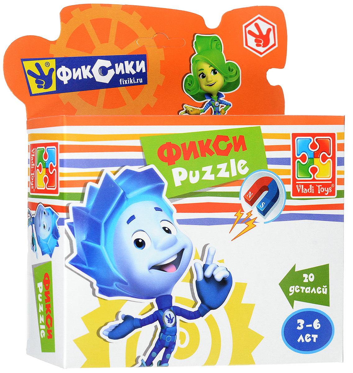 Vladi Toys Пазл для малышей Фиксики Нолик фиксики настольная игра поле пазл тыдыщь в подарок мини пазл 20 элементов фиксики