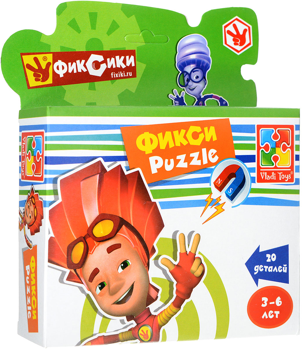 Vladi Toys Пазл для малышей Фиксики Файер фиксики настольная игра поле пазл тыдыщь в подарок мини пазл 20 элементов фиксики