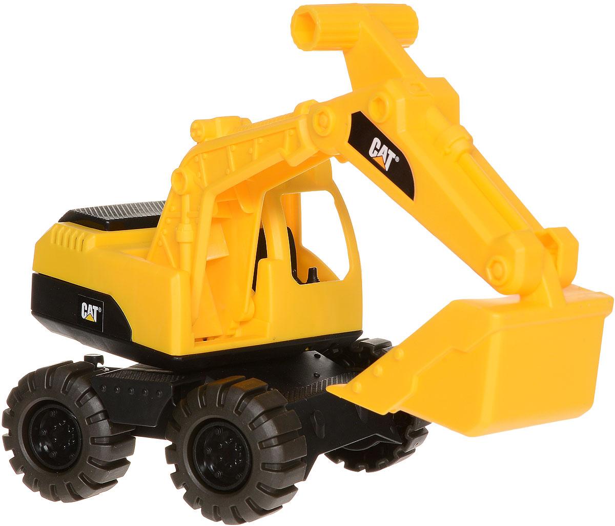 Toystate Экскаватор Cat 82010TS toystate машина со светом и звуком toystate в ассортименте