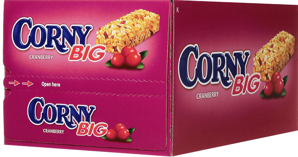 Corny полоска злаковая с клюквой, 24 шт0120710Злаковые батончики Corny - вкусная и здоровая альтернатива традиционным снэкам - шоколадным плиткам, чипсам и булкам. Батончики сочетают в себе исключительную пользу и удобство. В их состав входят злаки, орехи, фрукты и шоколад. Разнообразие видов позволяет каждому выбрать батончик по своему вкусу. Медленные углеводы заряжают полезной энергией, а удобная форма и упаковка соответствуют быстрому ритму жизни.Уважаемые клиенты! Обращаем ваше внимание, что полный перечень состава продукта представлен на дополнительном изображении.