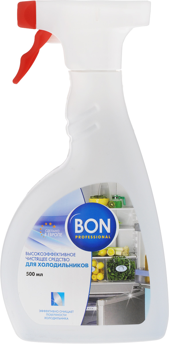 Средство для чистки холодильников Bon, 500 мл391602Специальный очищающий спрей Bon предназначен для ухода за внутренними и внешними поверхностями холодильников, морозильных камер, автохолодильников. Эффективно удаляет любые виды загрязнений, в том числе засохшие остатки пищи, жир, потеки. Обладает мощным антибактериальным действием, предотвращает образование плесени, оставляя свежесть и чистоту на долгое время. Устраняет неприятные запахи. Бережно очищает пластиковые поверхности, металлические и стеклянные детали холодильника, не разрушает структуру уплотнительных элементов. Не оставляет следов, разводов и химического запаха.Товар сертифицирован.