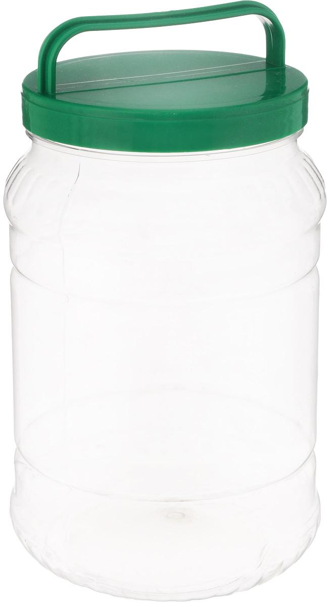 Бидон Альтернатива, цвет: прозрачный, темно-зеленый, 2 лFD-57Бидон Альтернатива предназначен для хранения и переноски пищевых продуктов. Выполнен из пищевого высококачественного пластика. Оснащен ручкой для удобной переноски. Крышка плотно закручивается.Бидон Альтернатива станет незаменимым аксессуаром на вашей кухне.Высота бидона (без учета крышки): 20,5 см.Диаметр: 12,5 см.