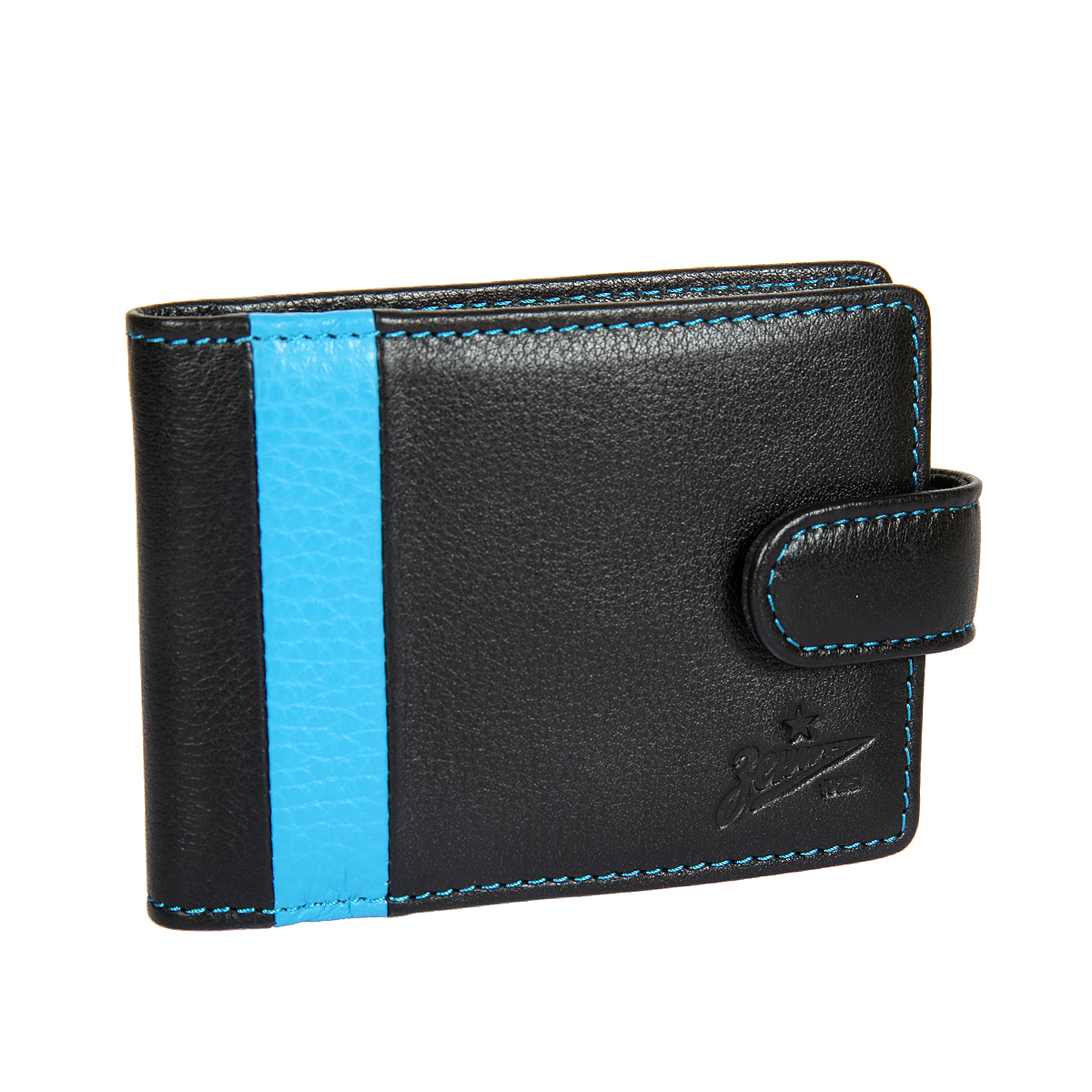 Визитница мужская Gianni Conti, цвет: черный. Z587470EQW-M710DB-1A1Закрывается клапаном на кнопке, внутри блок прозрачных файлов для визиток 18 шт, два сетчатых кармашка.