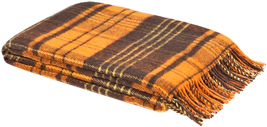 Плед Андо, 140 см х 200 см. 1-223-140_08SVC-300Мягкий и гладкий плед Андо, выполненный из натуральной новозеландской овечьей шерсти, добавит комнате уюта и согреет в прохладные дни. Удобный размер этого качественного пледа позволит использовать его и как одеяло, и как покрывало для кресла или софы. Плед с кистями.Плед упакован в пластиковую сумку-чехол на застежке-молнии, а прочные текстильные ручки делают чехол удобным для переноски.Такое теплое украшение может стать отличным подарком друзьям и близким! Под шерстяным пледом вам никогда не станет жарко или холодно, он помогает поддерживать постоянную температуру тела. Шерсть обладает прекрасной воздухопроницаемостью, она поглощает и нейтрализует вредные вещества и славится своими целебными свойствами. Плед из шерсти станет лучшим лекарством для людей, страдающих ревматизмом, радикулитом, головными и мышечными болями, сердечно-сосудистыми заболеваниями и нарушениями кровообращения. Шерсть не электризуется. Она прочна, износостойка, долговечна. Наконец, шерсть просто приятна на ощупь, ее мягкость и фактура вызывают потрясающие тактильные ощущения! Характеристики: Материал: 100% новозеландская овечья шерсть. Размер:140 см х 200 см. Размер упаковки: 49 см х 38 см х 10 см. Артикул:1-223-140_08.