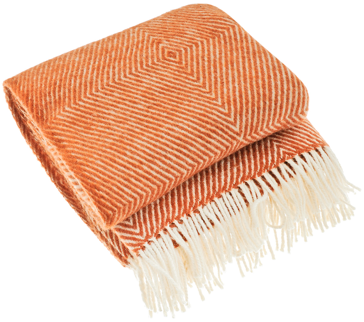 Плед Руно Bergamo, цвет: коричневый, 140 х 200 см 1-711-140_06391602Теплый и уютный плед с кисточками Руно Bergamo выполнен из натуральной овечьей шерсти с добавлением искусственного волокна и оформлен принтом в полоску. Плед изготовлен с молезащитной обработкой.Под шерстяным пледом вам никогда не станет жарко или холодно, он помогает поддерживать постоянную температуру тела. Шерсть обладает прекрасной воздухопроницаемостью, она поглощает и нейтрализует вредные вещества и славится своими целебными свойствами. Плед из шерсти станет лучшим лекарством для людей, страдающих ревматизмом, радикулитом, головными и мышечными болями, сердечно-сосудистыми заболеваниями и нарушениями кровообращения. Шерсть не электризуется. Она прочна, износостойка, долговечна. Наконец, шерсть просто приятна на ощупь, ее мягкость и фактура вызывают потрясающие тактильные ощущения! Такой плед идеально подойдет для дачного отдыха: он очень пригодится, как только захочется укутаться, дыша вечерним воздухом, выручит, если приехали гости, и всегда под рукой, когда придет в голову просто полежать на траве! А в квартире такое плед согреет в холодное время года и порадует нежными оттенками и интересным дизайном.