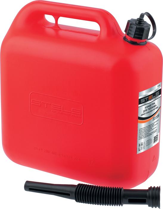 Канистра Stels для топлива, пластиковая, 10 лC0042416Канистры предназначены для хранения и переноса бензина и ГСМ. Каждая канистра оборудована сливным носиком и крышкой. Благодаря носику при заправке топливного бака из канистры бензин не проливается. Изготовлены из бензостойкого пластика.