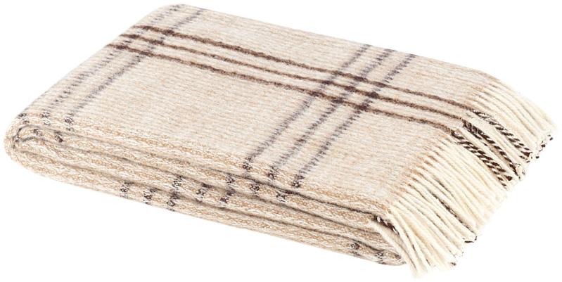 Плед Британия, 140 х 200 см 1-261-140_02ES-412Теплый пушистый плед Британия, выполненный из натуральной новозеландской овечьей шерсти, добавит комнате уюта и согреет в прохладные дни. Удобный размер этого качественного пледа позволит использовать его и как одеяло, и как покрывало для кресла или софы. Плед упакован в пластиковую сумку-чехол на застежке-молнии, а прочные текстильные ручки делают чехол удобным для переноски.Такое теплое украшение может стать отличным подарком друзьям и близким! Под шерстяным пледом вам никогда не станет жарко или холодно, он помогает поддерживать постоянную температуру тела. Шерсть обладает прекрасной воздухопроницаемостью, она поглощает и нейтрализует вредные вещества и славится своими целебными свойствами. Плед из шерсти станет лучшим лекарством для людей, страдающих ревматизмом, радикулитом, головными и мышечными болями, сердечно-сосудистыми заболеваниями и нарушениями кровообращения. Шерсть не электризуется. Она прочна, износостойка, долговечна. Наконец, шерсть просто приятна на ощупь, ее мягкость и фактура вызывают потрясающие тактильные ощущения! Характеристики: Материал: 100% новозеландская овечья шерсть. Размер:140 см х 200 см. Размер упаковки: 49 см х 38 см х 10 см. Артикул:1-261-140_02.