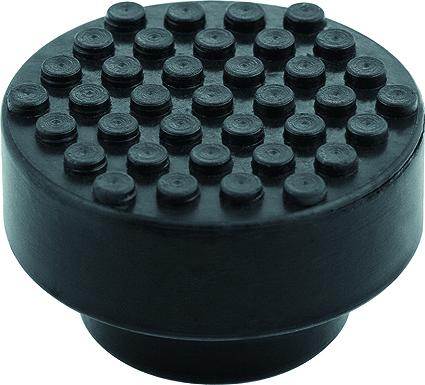 Опора резиновая для подкатного домкрата Matrix, диаметр 51 ммDW90Резиновая опора Matrix предназначена для установки на чашку подкатных домкратов STELS. Исключают повреждения автомобиля при подъеме. Изготовлен из высококачественной противоударной резины. Диаметр верхний: 51 мм. Диаметр нижний: 36 мм. Высота: 32 мм.