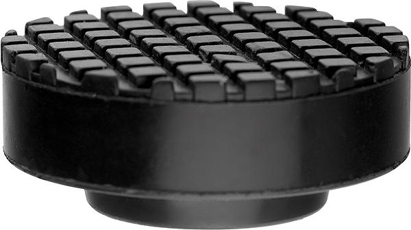 Опора резиновая для подкатного домкрата Matrix, диаметр 65 ммДЭ-310шРезиновая опора Matrix выполнена из противоударной резины и предназначена для установки на подъемные устройства для автомобилей. Исключают повреждения автомобиля при подъеме. Подходят для подкатных домкратов различного типа. Диаметр верхний: 65 мм. Диаметр нижний: 37 мм. Высота подъема: 27 мм.