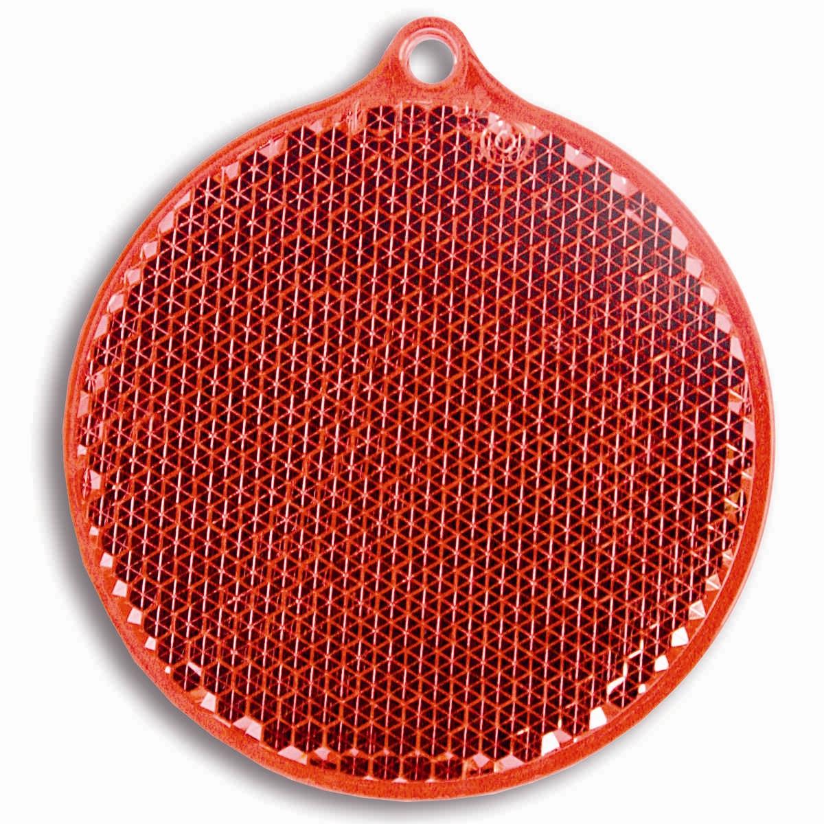 Светоотражатель пешеходный Coreflect Круг, цвет: красный118689Пешеходный светоотражатель — это серьезное средство безопасности на дороге. Использование светоотражателей позволяет в десятки раз сократить количество ДТП с участием пешеходов в темное время суток. Светоотражатель крепится на одежду и обладает способностью к направленному отражению светового потока. Благодаря такому отражению, водитель может вовремя заметить пешехода в темноте, даже если он стоит или двигается по обочине. А значит, он успеет среагировать и избежит возможного столкновения. С 1 июля 2015 года ношение светоотражателей вне населенных пунктов является обязательным для пешеходов! Мы рекомендуем носить их и в городе! Для безопасности и сохранения жизни!