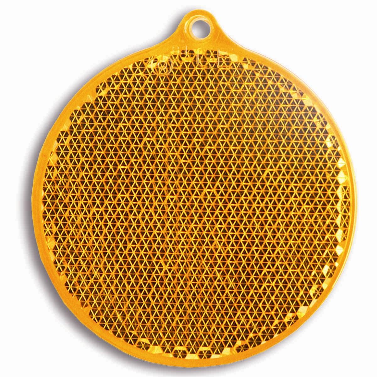 Светоотражатель пешеходный Coreflect Круг, цвет: оранжевыйVT-1520(SR)Пешеходный светоотражатель — это серьезное средство безопасности на дороге. Использование светоотражателей позволяет в десятки раз сократить количество ДТП с участием пешеходов в темное время суток. Светоотражатель крепится на одежду и обладает способностью к направленному отражению светового потока. Благодаря такому отражению, водитель может вовремя заметить пешехода в темноте, даже если он стоит или двигается по обочине. А значит, он успеет среагировать и избежит возможного столкновения. С 1 июля 2015 года ношение светоотражателей вне населенных пунктов является обязательным для пешеходов! Мы рекомендуем носить их и в городе! Для безопасности и сохранения жизни!