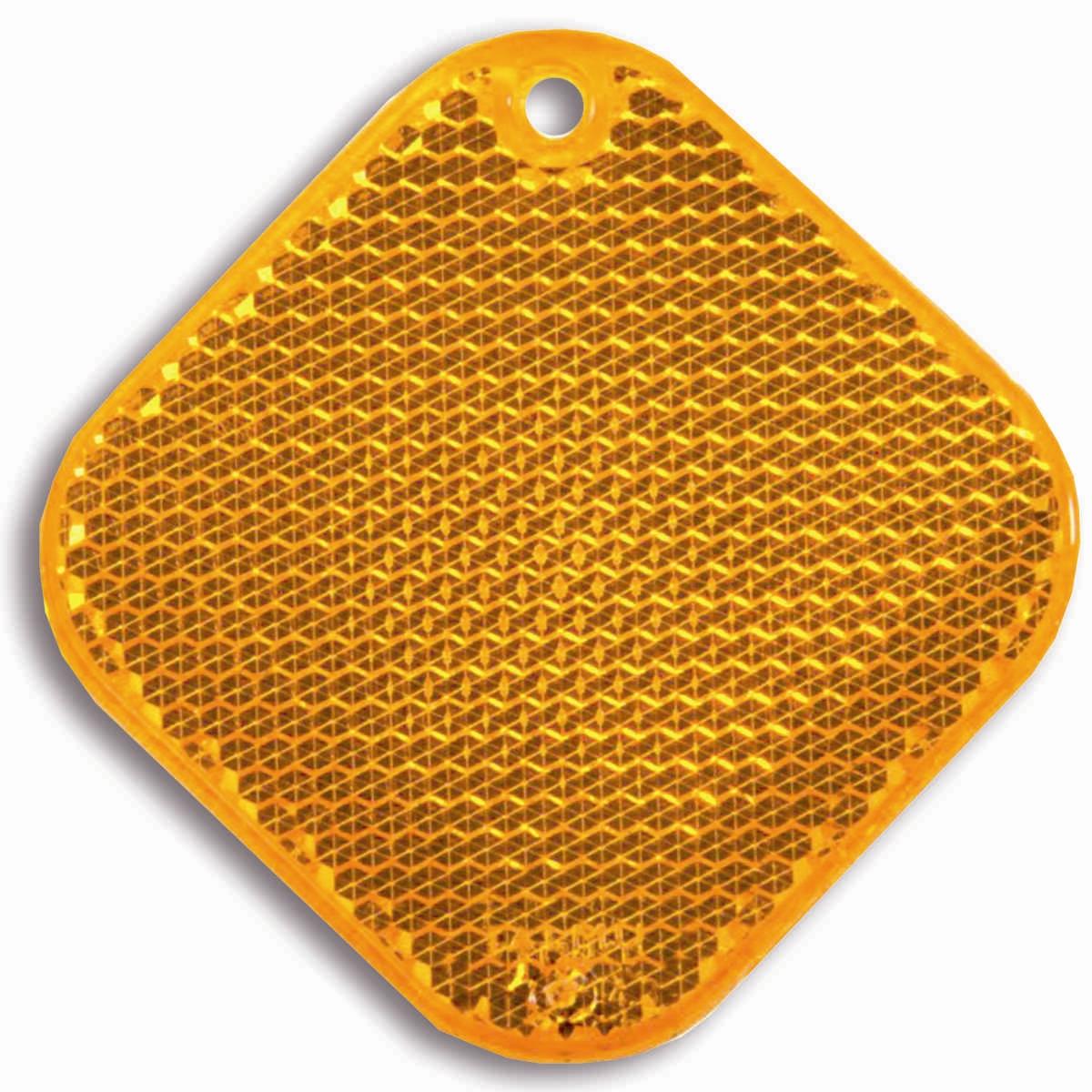 Светоотражатель пешеходный Coreflect Ромб, цвет: оранжевый98295719Пешеходный светоотражатель — это серьезное средство безопасности на дороге. Использование светоотражателей позволяет в десятки раз сократить количество ДТП с участием пешеходов в темное время суток. Светоотражатель крепится на одежду и обладает способностью к направленному отражению светового потока. Благодаря такому отражению, водитель может вовремя заметить пешехода в темноте, даже если он стоит или двигается по обочине. А значит, он успеет среагировать и избежит возможного столкновения. С 1 июля 2015 года ношение светоотражателей вне населенных пунктов является обязательным для пешеходов! Мы рекомендуем носить их и в городе! Для безопасности и сохранения жизни!