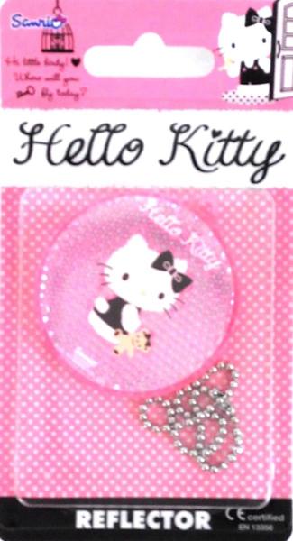 Светоотражатель пешеходный Coreflect Hello Kitty Круг, с игрушкой, цвет: розовыйВетерок 2ГФПешеходный светоотражатель — это серьезное средство безопасности на дороге. Использование светоотражателей позволяет в десятки раз сократить количество ДТП с участием пешеходов в темное время суток. Светоотражатель крепится на одежду и обладает способностью к направленному отражению светового потока. Благодаря такому отражению, водитель может вовремя заметить пешехода в темноте, даже если он стоит или двигается по обочине. А значит, он успеет среагировать и избежит возможного столкновения. С 1 июля 2015 года ношение светоотражателей вне населенных пунктов является обязательным для пешеходов! Мы рекомендуем носить их и в городе! Для безопасности и сохранения жизни!