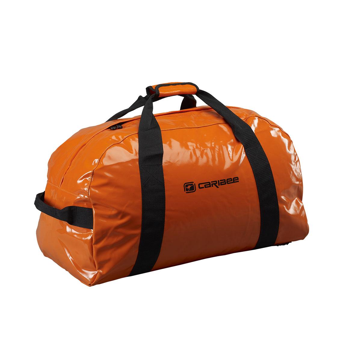 Сумка спортивная Caribee Zambezi, цвет: оранжевый, 65 л332515-2800Сумки для снаряжения от Caribee Zambezi это стильный дизайн, легкий вес и большая вместительность! Как и все сумки Caribee, этот модельный ряд был разработан с учетом привлекательного вида, практичной функциональности и прочной конструкции.Будьте уверены, что вы доберётесь до места назначения и ваш багаж будет в полной сохранности! Собираясь в поход с нашими сумками, вы можете позволить себе взять все необходимые вещи, и там еще останется достаточно места что бы уместить парашют.Сумка из материала, устойчивого к промоканию даже в штормовую погоду. Устойчивые к воде молнии. Ручки вшиты по всей окружности корпуса сумки, для дополнительной прочности. Дополнительные удобные ручки с торцов сумки для переноски.Объем: 65 л.Размер: 65 x 32 x 32 см.