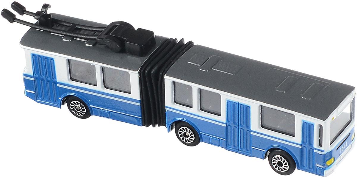 игрушка технопарк троллейбус trol rc ТехноПарк Троллейбус с резинкой