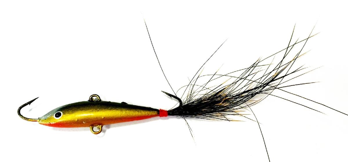 Балансир Asseri, цвет: синий, желтый, длина 4 см, вес 3 г. 509-P4003 балансир asseri цвет красный золотой желтый длина 4 см вес 3 г 513 04003