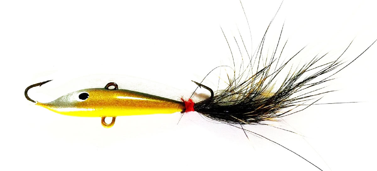 Балансир Asseri, цвет: черный, золотой, желтый, длина 4 см, вес 3 г. 509-P4007 балансир asseri цвет красный золотой желтый длина 4 см вес 3 г 513 04003