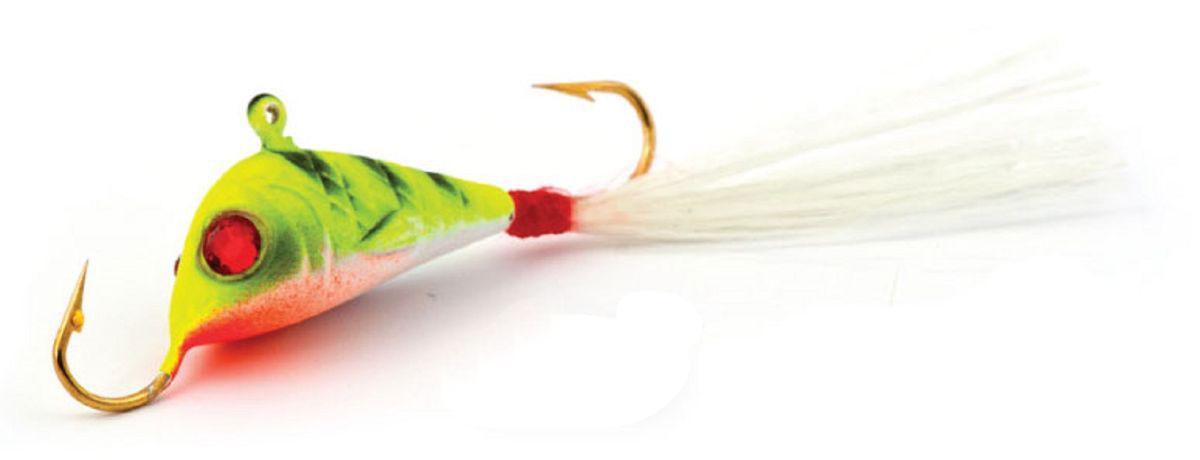 Балансир Finnex, длина 4,2 см, вес 7 г. BLR2-EPT59405Балансир Finnex имеет светящийся хвостик, который поможет приманить рыбу на глубине в несколько метров. Форма этого балансира напоминает мелкую рыбку. Балансир оснащен блестящим глазком, что делает его более заметным и позволяет привлечь рыбу с более дальнего расстояния. Изделие изготовлено из прочного свинцового сплава с элементами пластика.