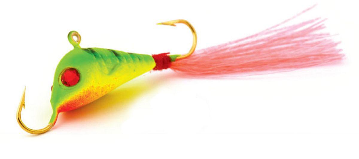 Балансир Finnex, длина 4,2 см, вес 7 г. BLR2-ZETASH164-YБалансир Finnex имеет светящийся хвостик, который поможет приманить рыбу на глубине в несколько метров. Форма этого балансира напоминает мелкую рыбку. Балансир оснащен блестящим глазком, что делает его более заметным и позволяет привлечь рыбу с более дальнего расстояния. Изделие изготовлено из прочного свинцового сплава с элементами пластика.