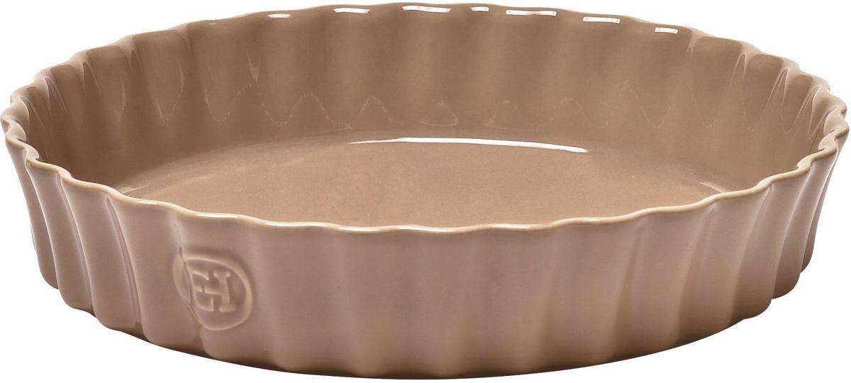 Форма для запекания Emile Henry Киш II, цвет: мускат, диаметр 28 см12160Форма для запекания Emile Henry Киш II специально предназначена для приготовления киша или клафути. Клафути - особый французский десерт, нежно тающий во рту, который должен готовиться медленно и пропекаться равномерно. Эта керамическая форма незаменима для его приготовления. А порционный размер формы, прекрасно сохраняющий температуру, удобен для подачи блюда прямо на стол. Форма выполнена из качественной керамики со стеклянной глазурью, выдерживающей нагрев до 250°С. Благодаря свойствам высококачественной керамики, посуда Emile Henry позволяет готовить медленно, равномерно, сохраняя полезные свойства продуктов. Благодаря высокопрочному покрытию, вы можете нарезать готовые блюда прямо на посуде непосредственно до или во время подачи на стол. Благодаря отсутствию в ее составе металлов, продукция Emile Henry может использоваться в конвекционных печах, обычных духовых и микроволновых печах. Можно ставить в морозильную камеру, выдерживает температуру -20°C и при этом устойчива к перепадам температур: достав посуду из морозильной камеры, вы можете сразу помещать ее в духовку. Можно мыть в посудомоечной машине. Посуда Emile Henry очень долговечна, поэтому вы будете наслаждаться комфортом ее использования долгое время.