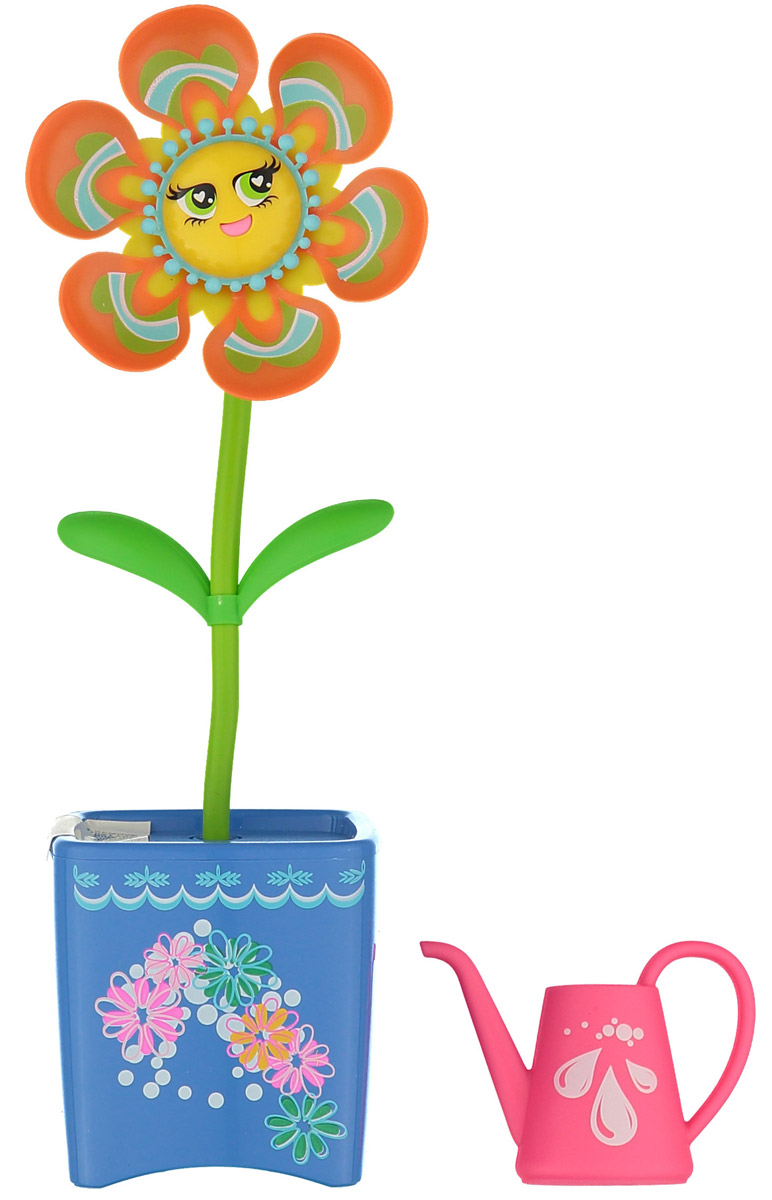 Magic Blooms Интерактивная игрушка Волшебный цветок цвет оранжевый голубой - Интерактивные игрушки