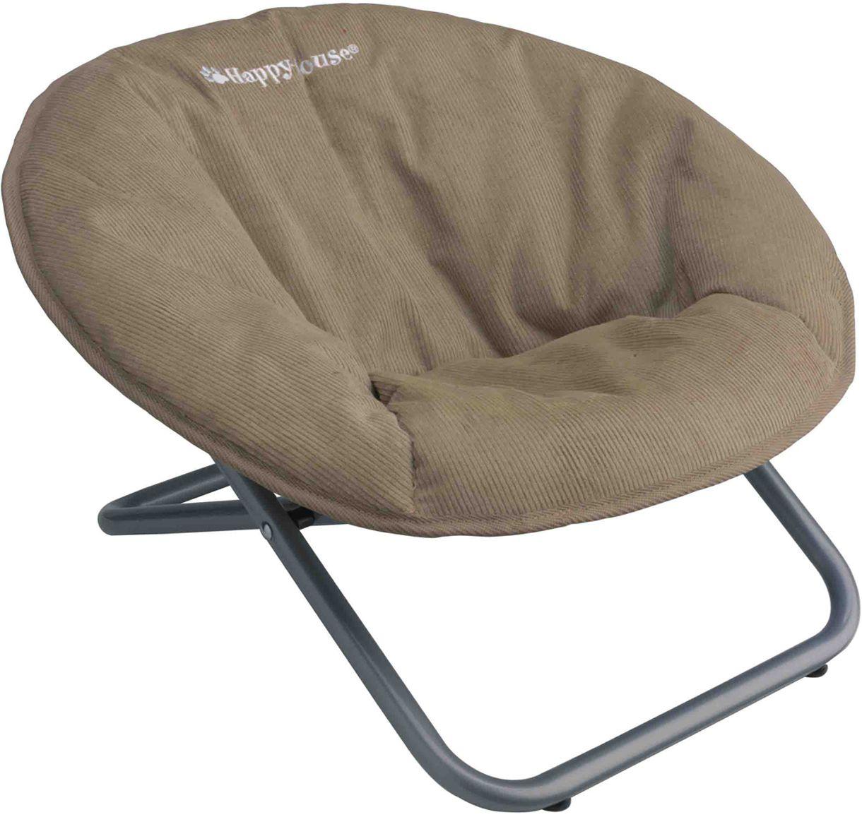 Стул для животных Happy House New Classic, цвет: бежевый, 55 х 51 х 36 см0120710Стул для животных Happy House New Classic - прекрасный большой стул для кошки или собаки. Стул имеет металлический каркас и сиденье, выполненное из мягкого вельвета с наполнителем из полиэстера. Сиденье легко снимается с каркаса. Его можно стирать при температуре 30°С. Максимальная вместимость стула - 15 кг.На таком стуле вашему любимцу будет мягко и тепло. Он подарит вашему питомцу ощущение уюта и уединенности.