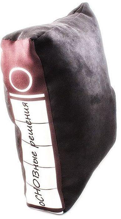 Подушка Эврика Офисная папка. оСНОВные решения300194_фиолетовый/веткаОригинальная подушка Эврика Офисная папка. оСНОВные решения поможет вам проспать суровые офисные будни. Верх изделия выполнен из замши sensitive touch (100% полиэстер), наполнитель - холлофайбер (100% полиэфир). Скрытая среди офисных файлов, подушка манит прикоснуться к ее нежной замшевой бархатистой глади, почувствовать упругую мягкость и задремать... с комфортом... Сладкий, бодрящий сон и вы готовы к великим свершениям, а подушку подложите под спину или под бочок.Такая подушка станет отличным подарком коллегам и вызовет улыбку у каждого, кто ее увидит.