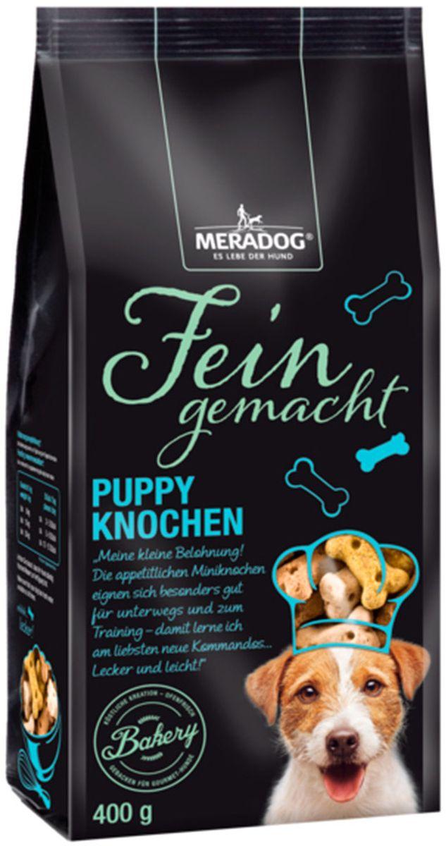 Лакомство для собак Meradog Puppy Knochen Mix. Щенячье удовольствие, 400 г00-00001295Лакомства Meradog – это восхитительное хрустящее печенье, которое не оставит равнодушным ни одну собаку. Лакомства Meradog всегда помогут сделать вашего питомца счастливым, а особый вкус и аромат обязательно доставят ему море удовольствия, и он попросит еще. Лакомства идеально подойдут в качестве угощения и для дрессировки. Воспитание и дрессировка с вкусняшками Meradog приведут вас к цели быстрее, чем вы думаете.Лакомства для собак Meradog – это:- Полезные добавки к основному питанию.- Витамины и минералы, способствующие восстановлению баланса питательных веществ и укреплению здоровья собаки.- Отличная профилактика образования зубного камня и заболеваний полости рта.Побалуйте свою собаку – подарите ей заботу с Meradog.Состав: злаки, мясо и мясные субпродукты, масла и жиры,овощные субпродукты, минералы.Товар сертифицирован.