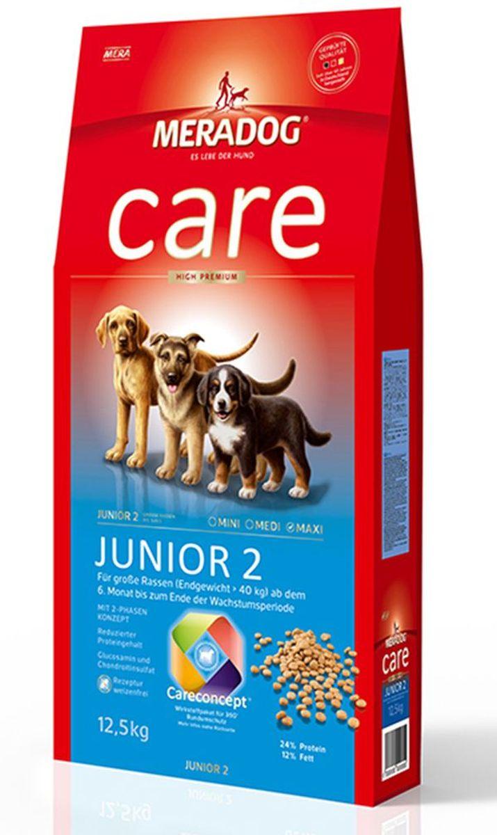 Корм сухой Meradog Junior 2 High Premium, для щенков с 6 месяцев, 300 г0120710Для щенков крупных пород с 6 месяцев и до конца периода роста.Пониженное содержание протеина по сравнению с кормом Junior 1.Высококачественный порошок из мяса моллюсков для хрящей и суставов.Пребиотический инулин и бета-глюканыМасло лосося.