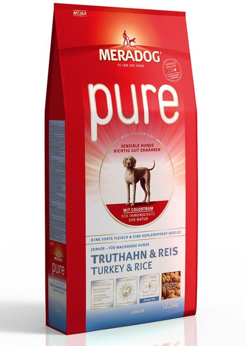 Корм сухой Meradog Pure Junior Turkey & Rice, для растущих собак с проблемами в питании/аллергиями, с индейкой и рисом, 300 г5649011Полнорационный корм для растущих собак с проблемами в питании и/или аллергиями.Для кормящих сукВысококачественный порошок из мяса моллюсков.С колострумом (природная иммунная защита)Без глютена и концепция защиты от MERADOG:антиоксиданты (витамин C, Е, бета-каротин и селен) для оптимальной защиты клеток. Натуральные жирные кислоты Омега-3 и Омега-6 (масло лосося, подсолнечное масло и масло льняных семян), а также хелат цинка для кожи и шерсти. Пребиотический инулин для стабильной кишечной флоры и надежного пищеварения. Высококачественный животный белок (индейка) для поддержания оптимального телосложения и обмена веществ. Идеально при многих пищевых аллергий. Только один источник углеводов и только один вид мяса. Колострум, маннан-олигосахариды и бета-глюканы для оптимальной иммунной защиты.