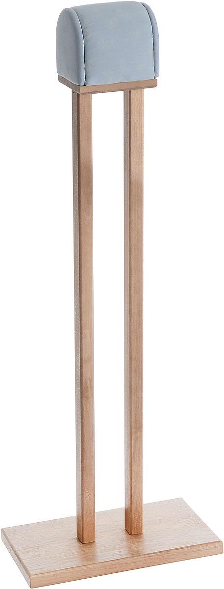 Колодка портновская Окат жирафOK12541Колодка портновская Окат жираф подходит для глажки манжет, плечевых швов и оката рукава. Изделие выполнено из древесины разных пород (хвоя, дуб, бук, тик) и оформлено накладкой из мягкого ватина. Благодаря большому основанию колодка очень устойчива. Влажно-тепловая обработка имеет большое значение в улучшении качества швейных изделий и их внешнего вида. Даже кривую строчку в некоторых случаях можно исправить утюгом. Колодка облегчит утюжку в труднодоступных для утюга местах. Кроме того, твердое холодное дерево быстро впитывает пар и охлаждает ткань, способствуя закреплению формы.