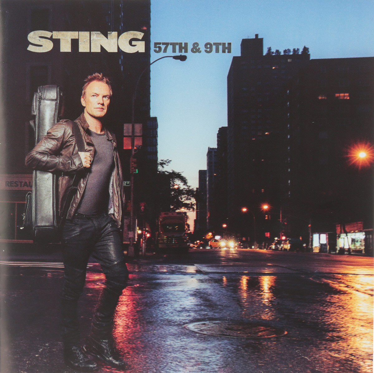 Стинг Sting. 57Th & 9Th sting sting the complete studio collection 16 lp
