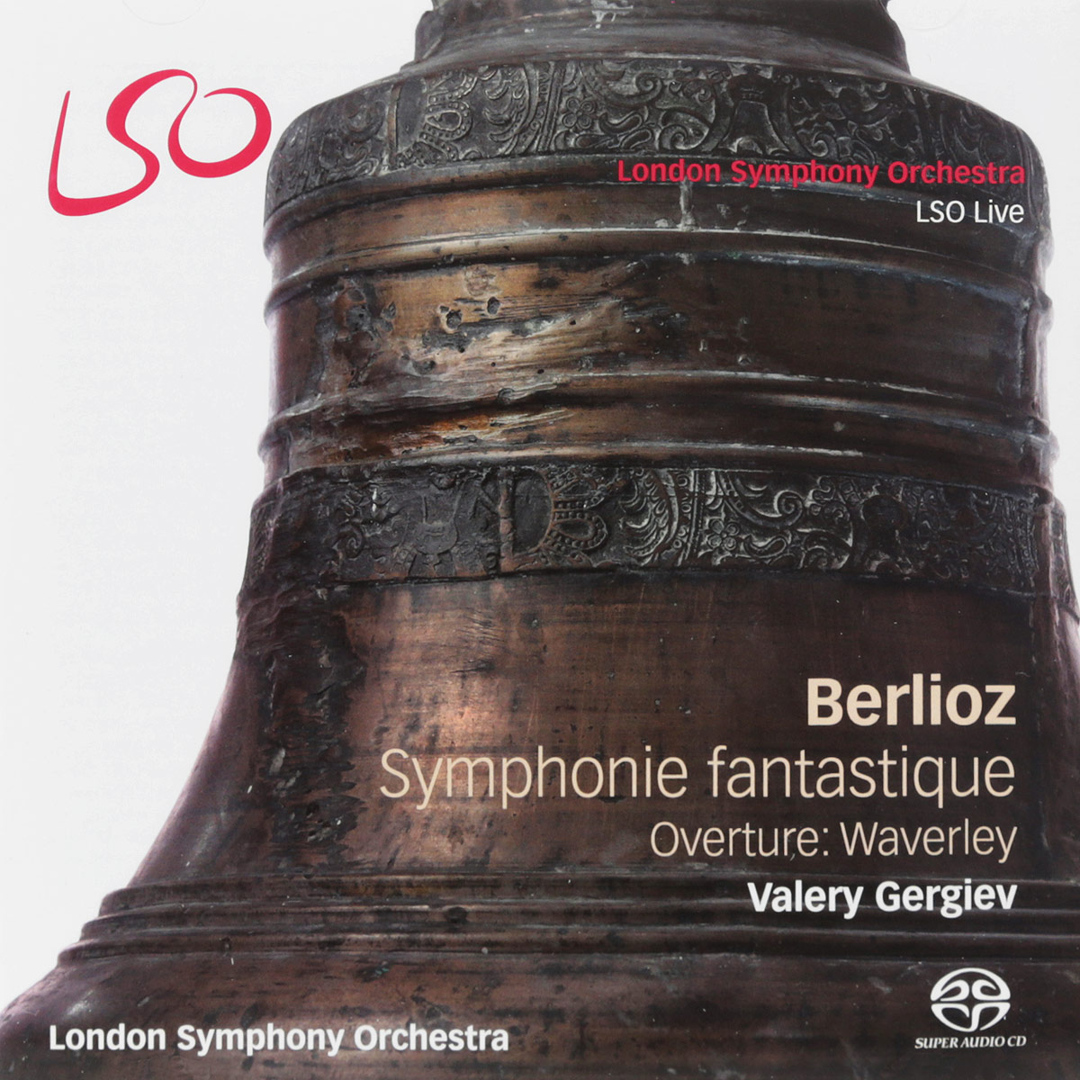 Валерий Гергиев,The London Symphony Orchestra Valery Gergiev. Berlioz. Symphonie Fantastique / Overture: Waverley (SACD + Blu-ray) francis rossi live from st luke s london blu ray