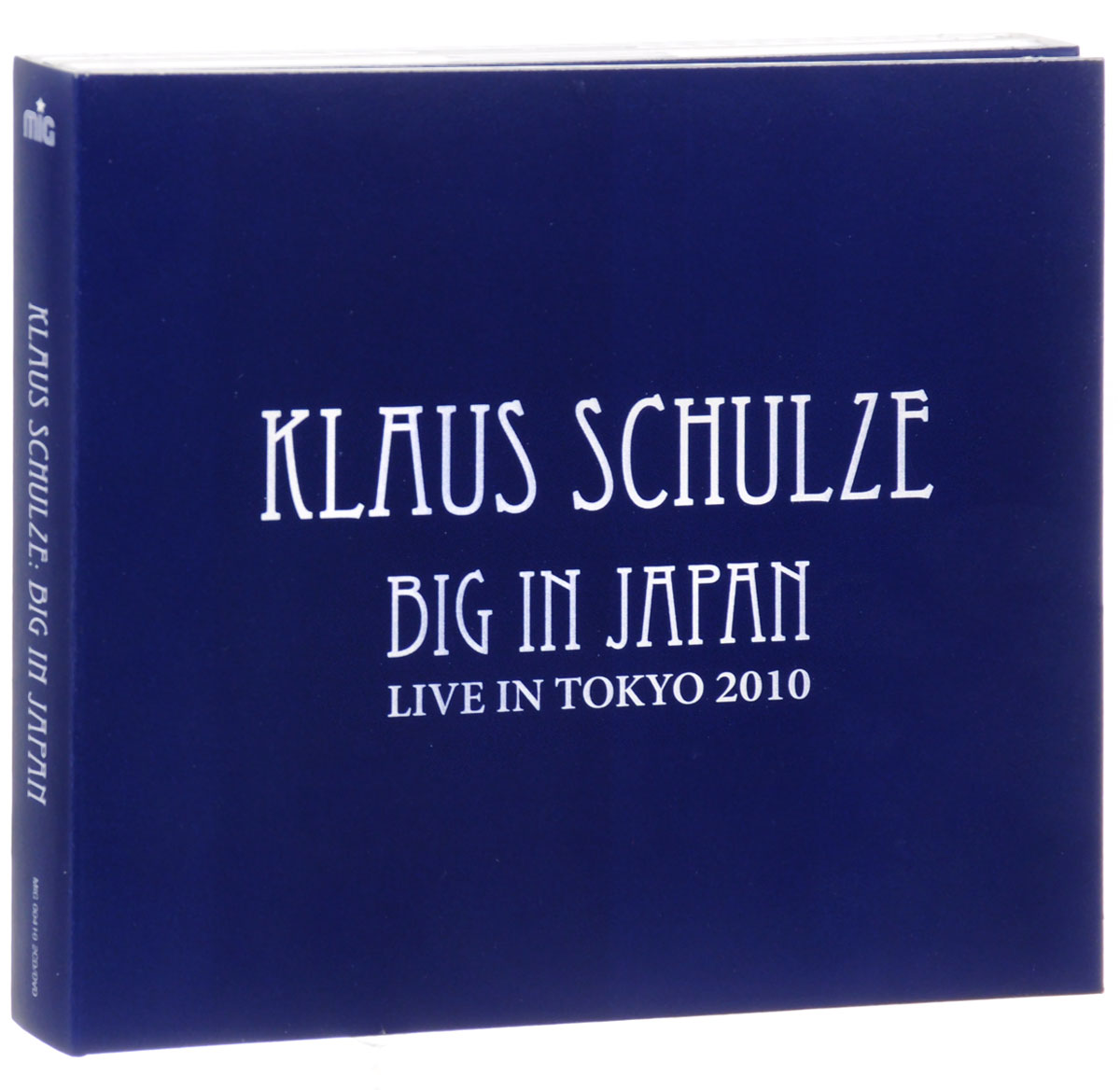 Klaus Schulze. Big In Japan (2 CD + DVD) schulze blue press line size 2 s