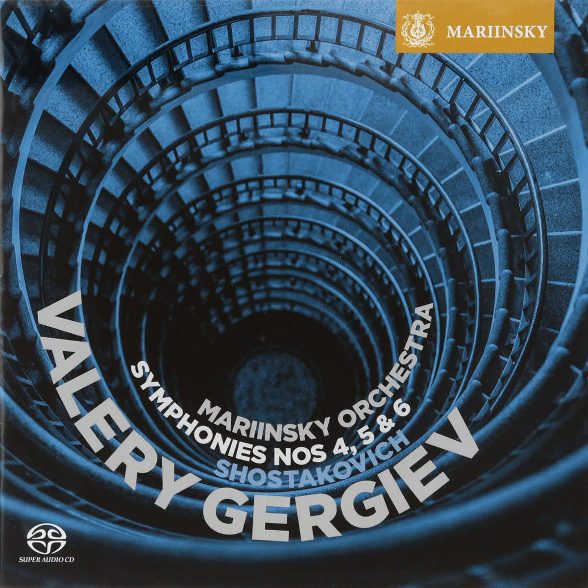 Валерий Гергиев,Orchestra Of The Mariinsky Theatre Valery Gergiev. Shostakovich. Symphonies Nos. 4, 5 & 6 (SACD) (2 CD) sir andrew davis williams the symphonies 6 cd