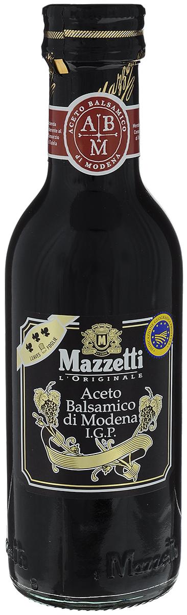 Mazzetti уксус бальзамический 3 листочка, 250 мл24Бальзамический уксус Mazzetti получен путем бережной ферментации отборного виноградного сусла и созревает в течение долгих лет в дубовых бочонках из ценных пород дерева. Золотой знак 3 листочка означает насыщенный вкус, рекомендуемый для приготовления рыбных и мясных блюд, а также горячих соусов.Уважаемые клиенты! Обращаем ваше внимание, что полный перечень состава продукта представлен на дополнительном изображении.