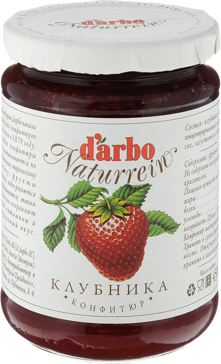 Darbo конфитюр клубника, 450 г0120710В 1879 году Рудольф Дарбо основал предприятие, которое стало одним из самых успешных в Австрии - A. Darbo AG в Тироле. Конфитюры Darbo экспортируются более чем в 40 странах мира. По всему миру Darbo гарантирует высокое качество конфитюров, меда и компотов. Для Darbo используются только свежие фрукты и ягоды из самых лучших регионов мира. Компания покупает розовые абрикосы в Венгрии, киви - в Новой Зеландии, черную вишню - в Швейцарии, бузину - в Сирии и клюкву - в Швеции.Уважаемые клиенты! Обращаем ваше внимание, что полный перечень состава продукта представлен на дополнительном изображении.