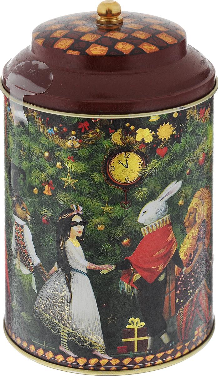 Maitre Трилогия чай черный листовой, 90 г101246Превосходная смесь черного байхового кенийского и индийского чая Maitre Трилогия в новогодней подарочной упаковке. Отлично подойдет в качестве подарка на новогодние праздники.